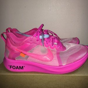 Nike Zoom Fly Tulip Pink Off Whites VNDS Size 9